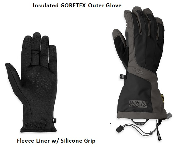 Arete Glove Set by Outdoor Research